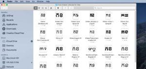 All Khmer Unicode fonts for Mac OS. font Khmer Unicode for Mac